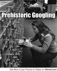 If you don't remember card catalogues, first, go ask your parents, and second, stop making us feel old.